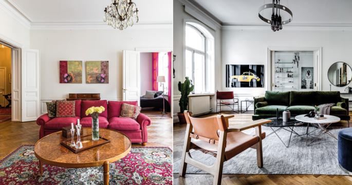 Före och efter: Så stylades hemmet till en designsäker dröm