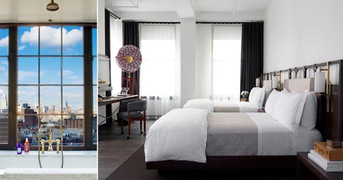De 5 snyggaste hotellen i New York