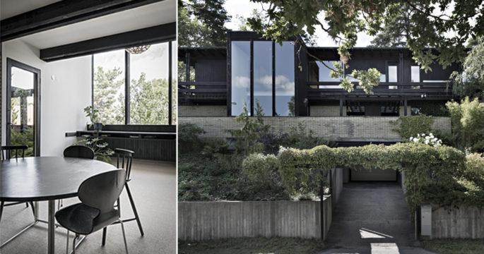 Stilren arkitektritad villa från 60-talet – kika in