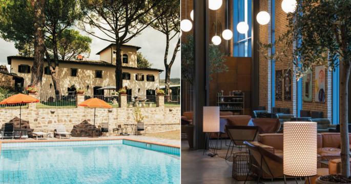 Besök en bit av Toscana i Sveriges enda vinhotell
