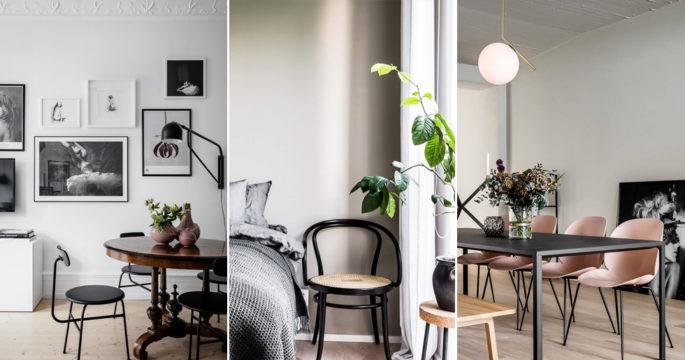 10 snygga och trendiga stolar som tar över våra hem