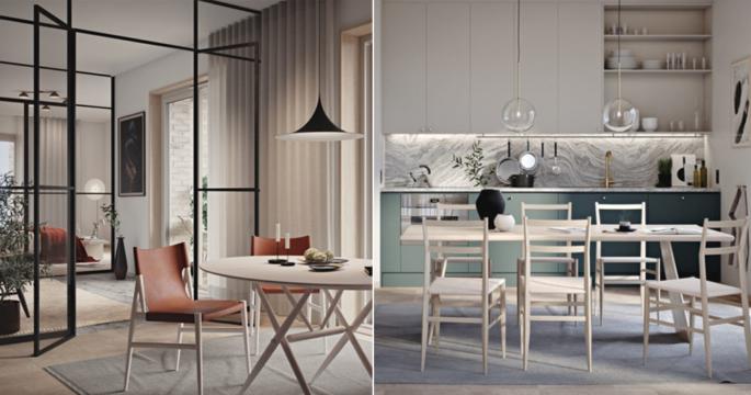 Nu säljs toppdesignade hem – inredda av Louise Liljencrantz