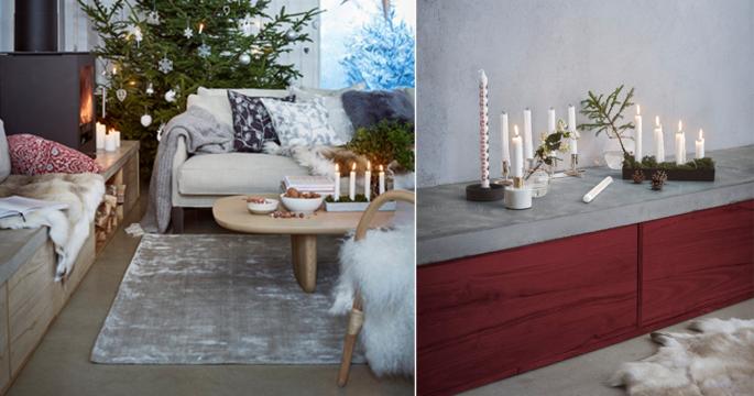 Vintervitt, klassiskt och elegant – så ser julen ut på Åhléns