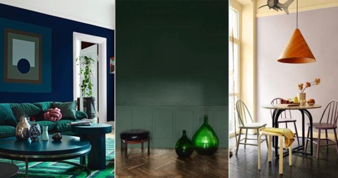Trendspaning: Så ska vi måla våra hem 2018