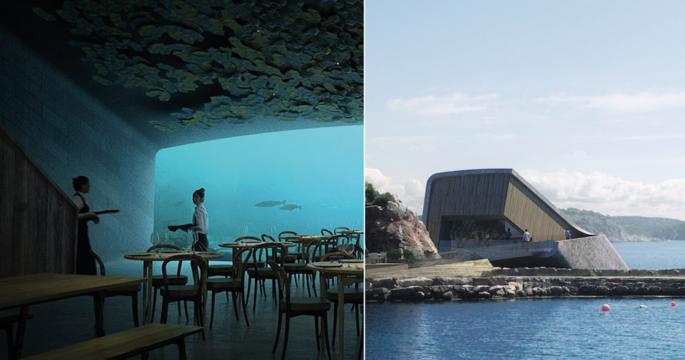 Snart kan du äta middag i Europas första undervattensrestaurang