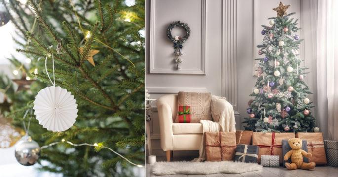 7 vackra julgranspynt att inspireras av
