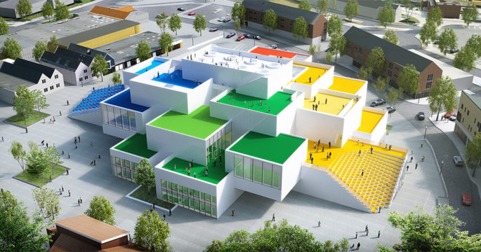 Airbnb lottar ut en natt i ett gigantiskt hus – byggt i Lego
