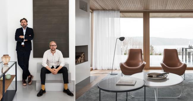 Elegant 60-talshus på Lidingö – inrett av designduon