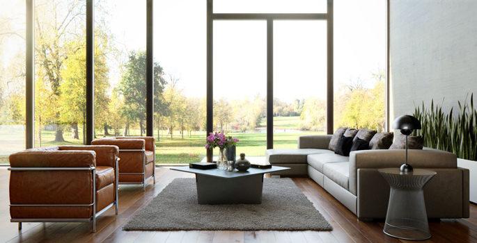 Så ska du placera soffan – 5 snygga alternativ