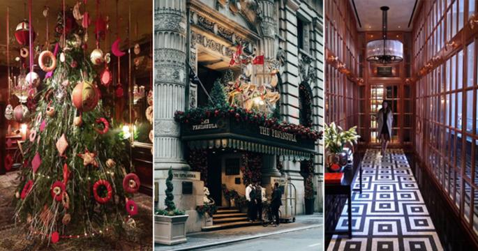 7 storstadshotell som får oss i julstämning