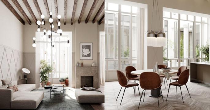 Exklusiva våningar i Palma - med skandinavisk inredning
