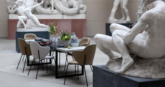 Danska designföretaget lanserar inspirerande matsalskollektion