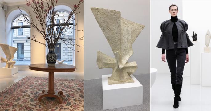 Spana in Bukowskis inspirerande konst- och modeutställning