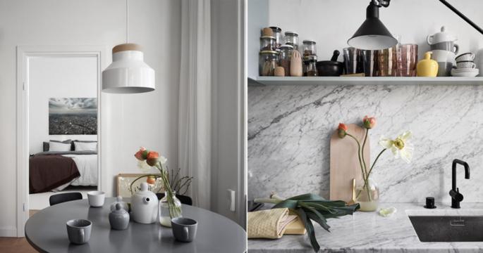 Kika in i formgivarens stilfulla hem – vid Hornstulls strand