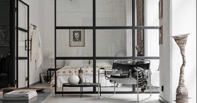 Från kartongfabrik till stilren lägenhet i Göteborg - kika in
