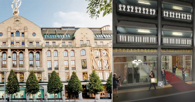 Nordiska Kompaniet expanderar – får utegym på taket