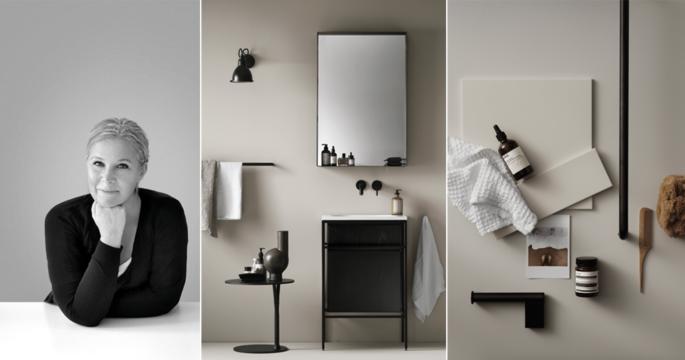 Lotta Agaton designar badrum som lanseras i vår – se bilderna