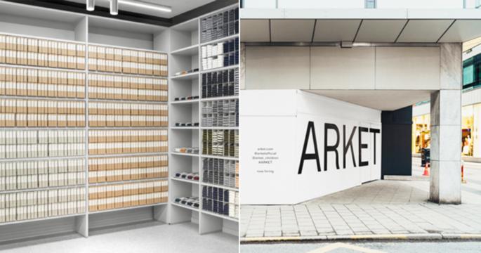 Här öppnar Arket sin första svenska butik