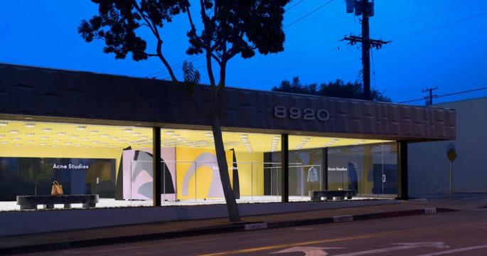 Acne Studios öppnar ny butik i Los Angeles
