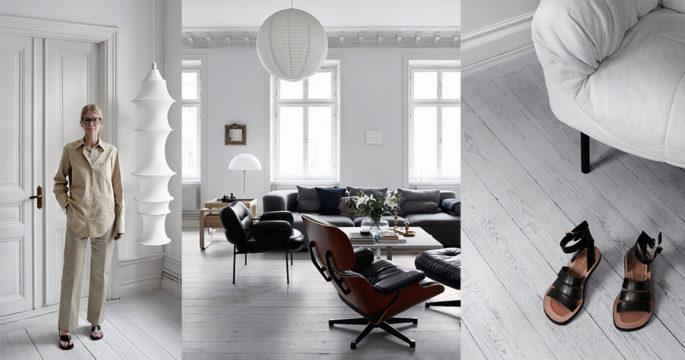 Stilrent hemma hos Arkets designchef Anna Teurnell