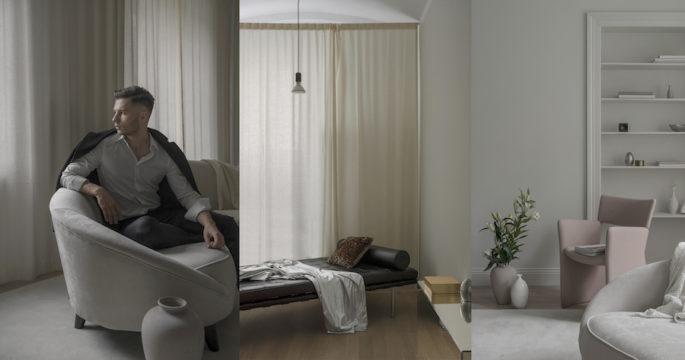 Titta in i Alexanders Söderqvists lugna hem – och läs hans inspirerande historia
