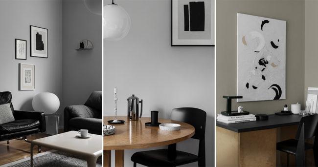 Kolla in Sundling Kickéns eleganta styling hemma hos Studio Dom