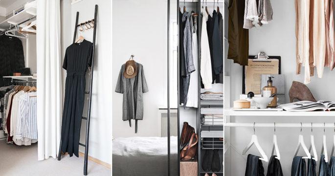 Så gör du en liten garderob lyxigare – 8 knep
