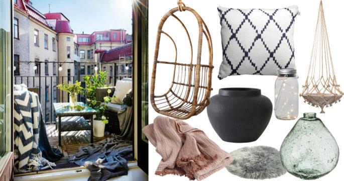 Sätt guldkant på balkongen – 17 shoppingtips som ger en lyxig känsla