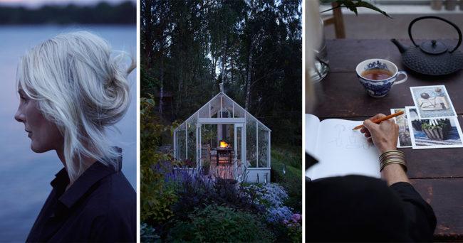 Sommarhem vi älskar: Kika in i Victoria Skoglunds underbara växthus
