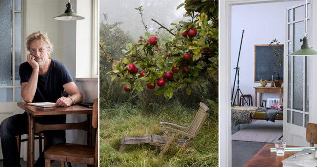 Spana in fotografen Charlie Drevstams hemliga äppelträdgård
