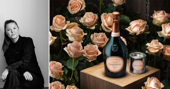 Asplund Klingstedt lanserar champagnerosa målarfärg