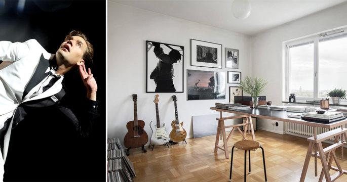 The Hives-Pelles drömlägenhet i Stockholm kan bli din – kolla in!