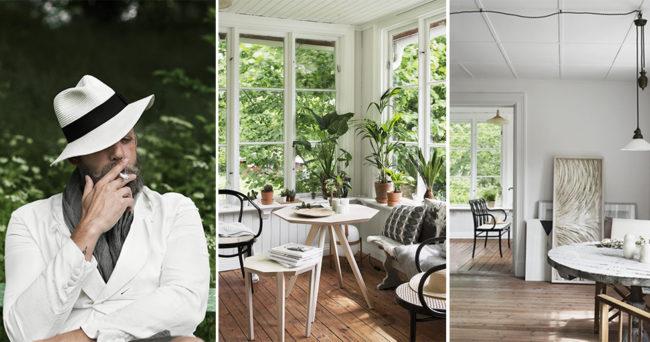 Sommarhem vi älskar: modedesignerns vackra sommartorp på Ekerö