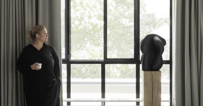 Lotta Agaton gör gardiner med Luxaflex  2fbecb8a2d244