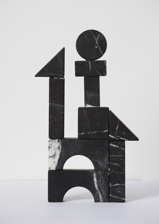 Black marble game designed by Apartamento magazine and Block studios.