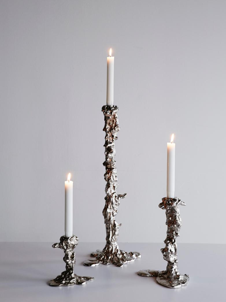 Drip candle holder from Artilleriet.