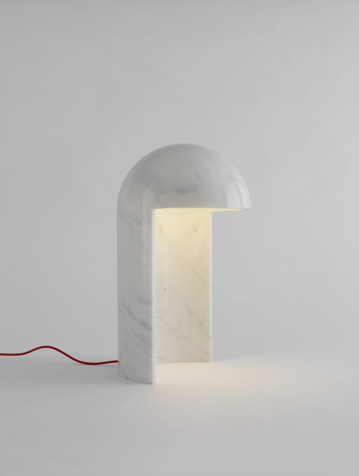 The lamp Milano 2015 designed by Carlo Colombo for Fontana Arte.