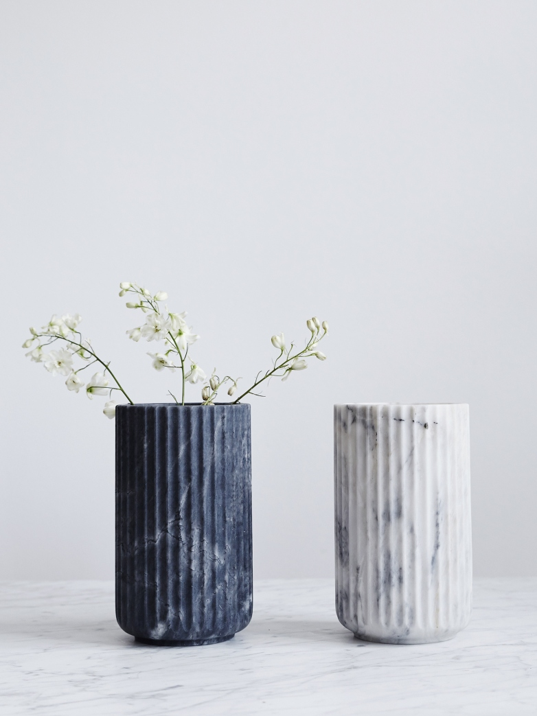 Lyngby Marble vase from Artilleriet
