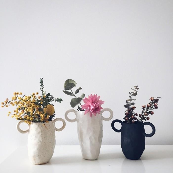 The Australian ceramicist Tara Burke