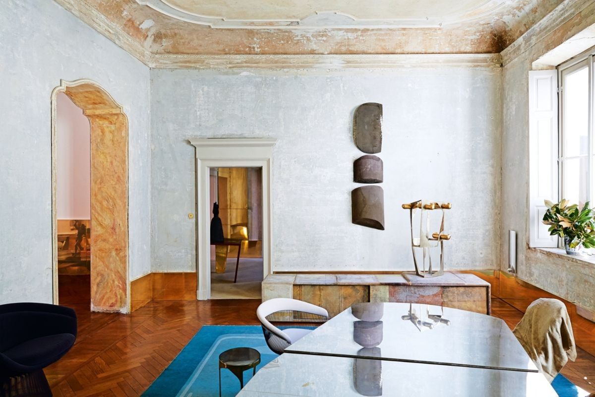 Vincenzo de Cotiis 18th century palazzo apartment Milan.