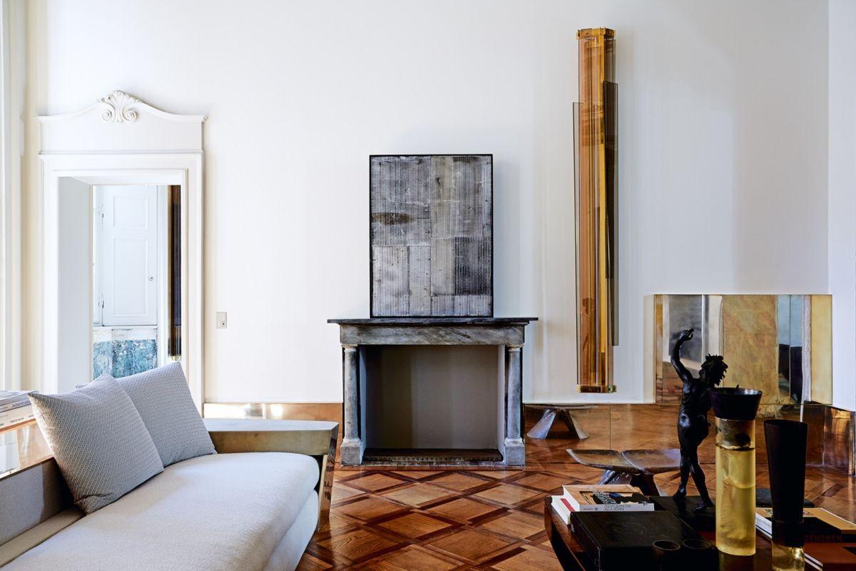 Vincenzo de Cotiis 18th century palazzo apartment Milan1