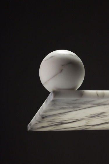 "Thé Vouz-Choquet's debut collection ""Marmo Domestici"" for Bloc Studio."