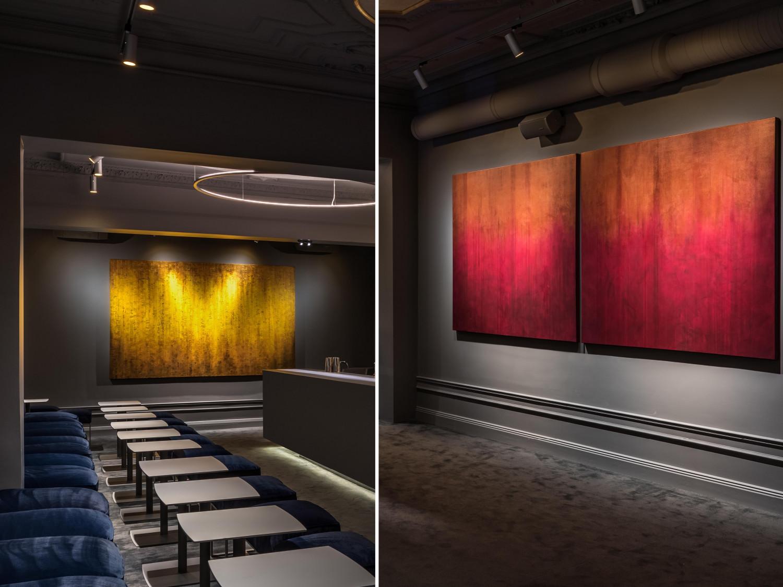 Jacob Sodergren´s art at Nosh and Chow
