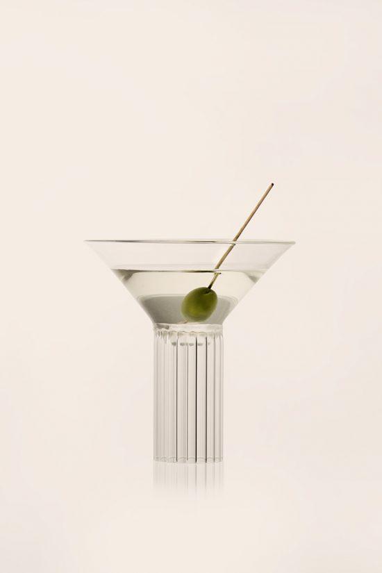 vackra glas till drinkar