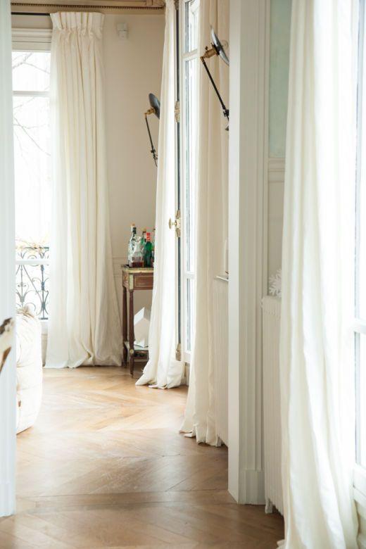 vackert hem i Paris