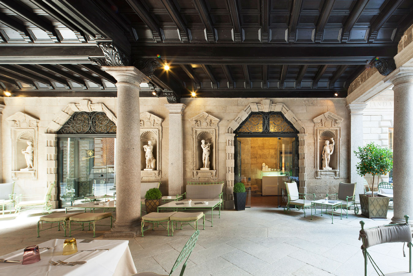 restaurangen Il salumaio di Montenapoleone i Milano