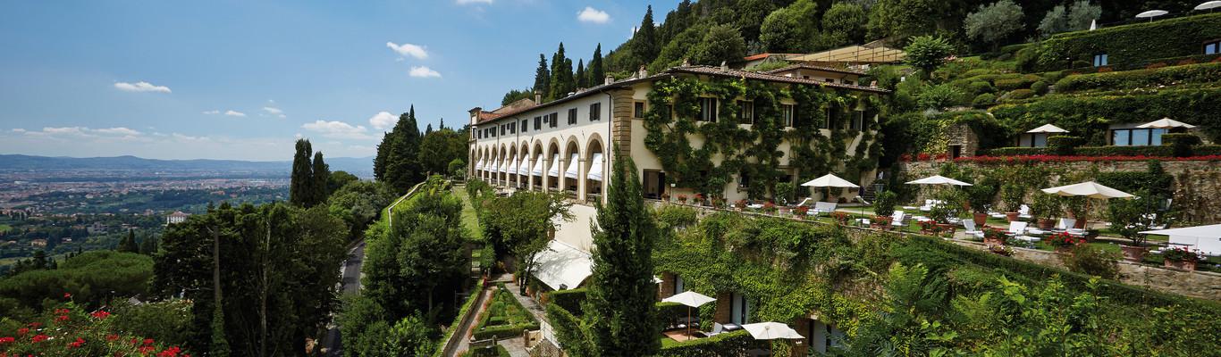 vackra hotellet belmond villa san michele i florens