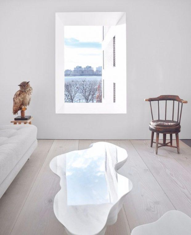 John Pawson har inrett en fantastisk lägenhet i New York i vilken han blandar möbler från olika tidsepoker och stilar.