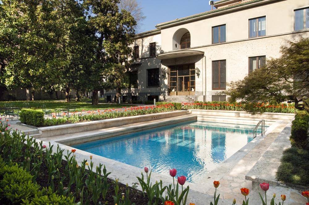 Ikoniska Villa Necchi Campiglio i Milano