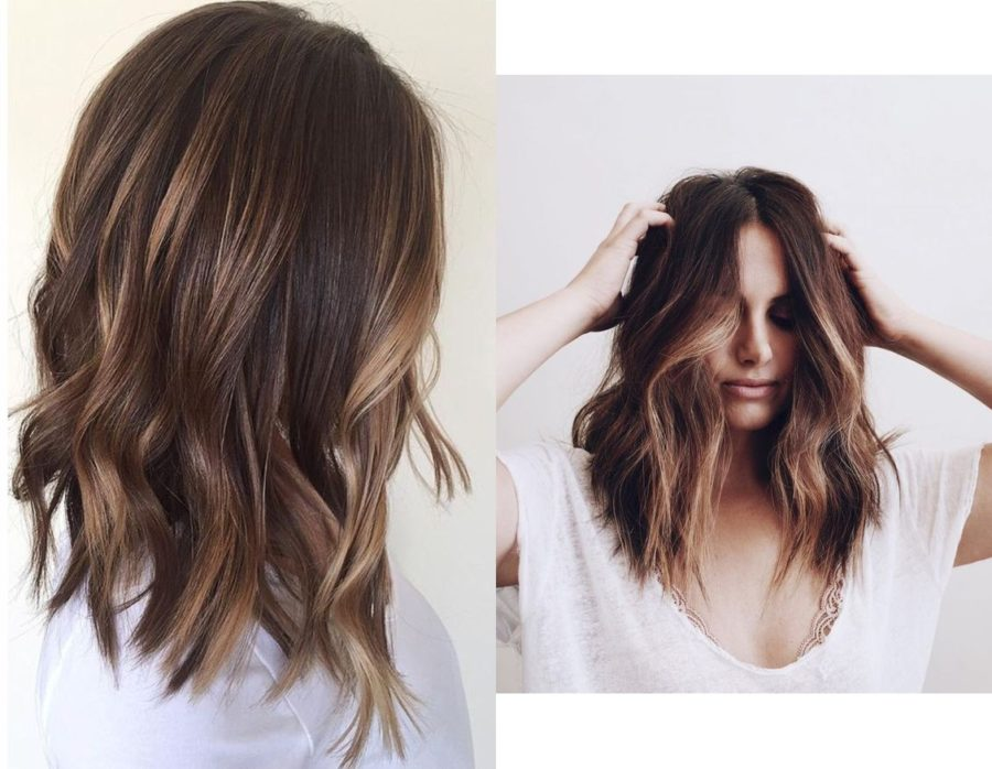 frisyrer långt hår 2017